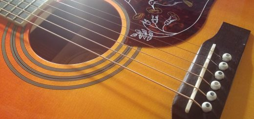 Danny's Epiphone Hummingbird Pro Guitar